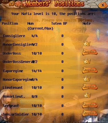 [FEATURE] Legion Organization Types! Mafia10