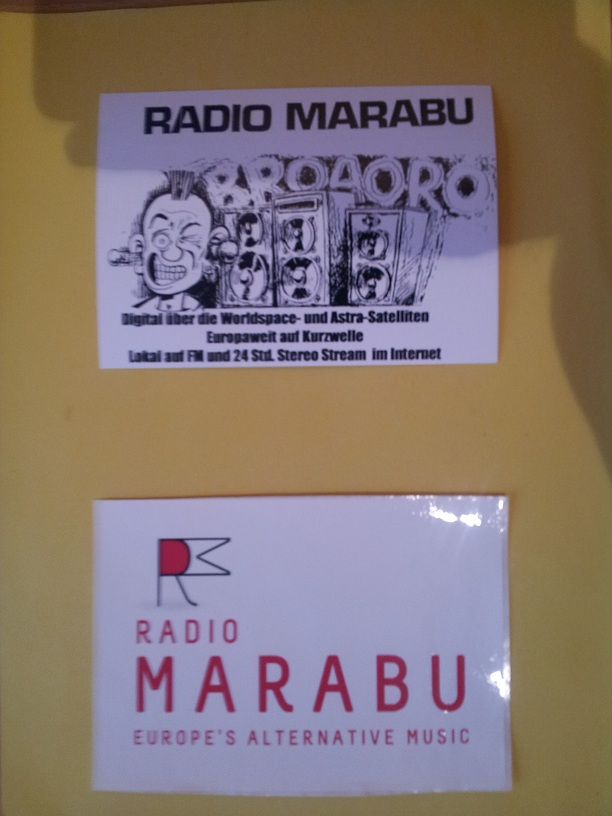 Courrier de radio MARABU 20160214