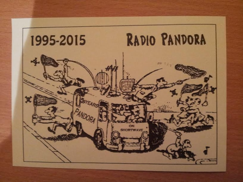 Courrier de radio Pandoria 86655210