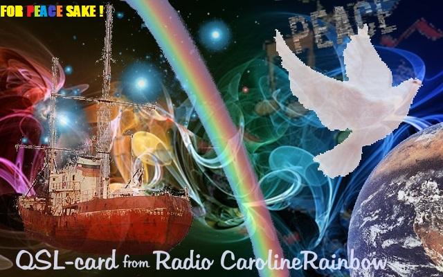 eQSL de radio Caroline rainbow (tcheque) Caroli10