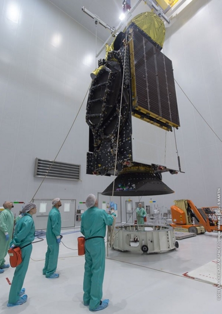 Lancement Ariane VA229 - Eutelsat 65 - 9 mars 2016   Screen35