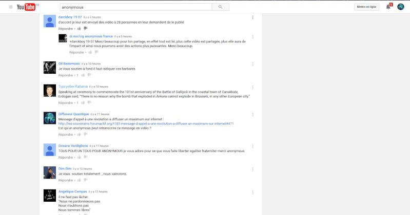 Urgent ! Censure invisible dans les commentaires youtube. Censur10