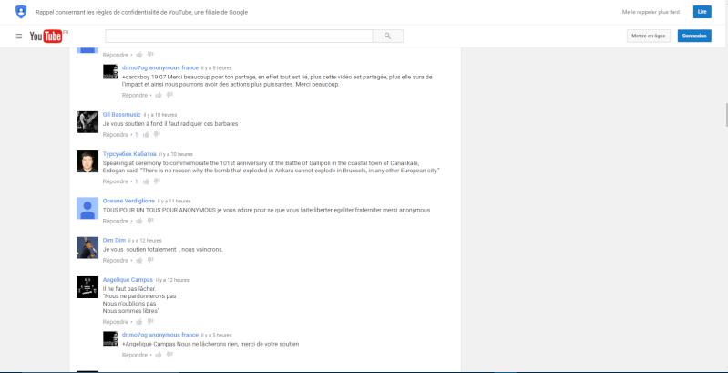 Urgent ! Censure invisible dans les commentaires youtube. Censur11