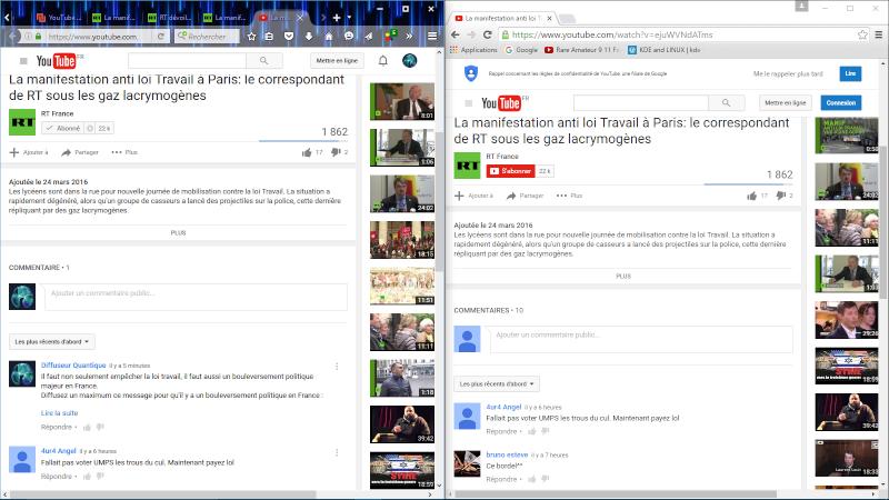 Urgent ! Censure invisible dans les commentaires youtube. Censur12