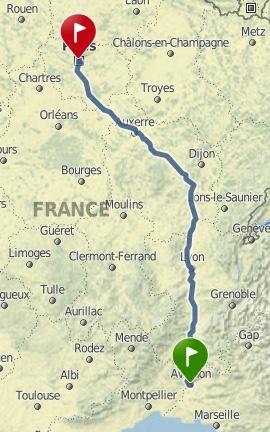 Avignon (84) > Paris (75) - AR les 22/03+ 05/04+ 07/04 (train) +frais Captur16