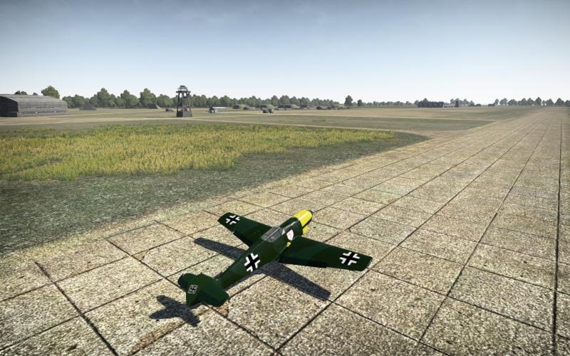 Mi primer Skin para aviones en el War Thunder Shot_215