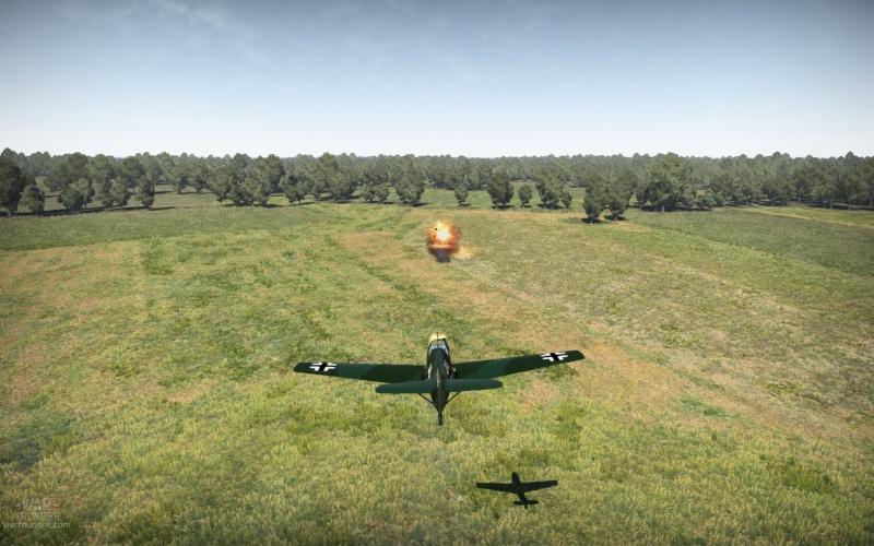 Mi primer Skin para aviones en el War Thunder Shot_217