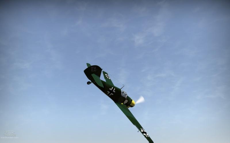 Mi primer Skin para aviones en el War Thunder Shot_218