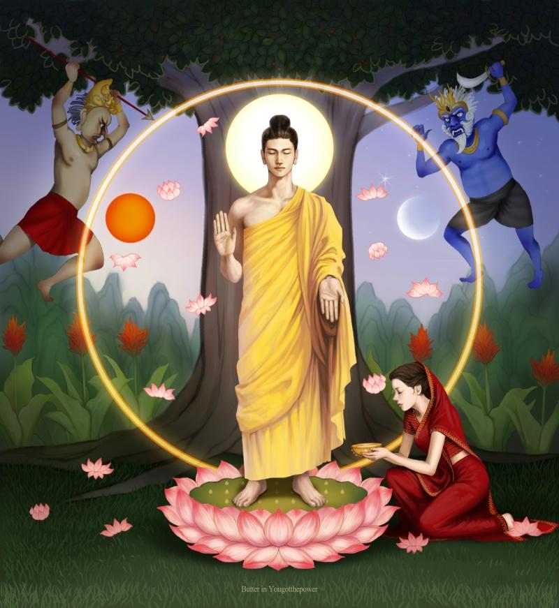 Iconographie comparée Bouddh12