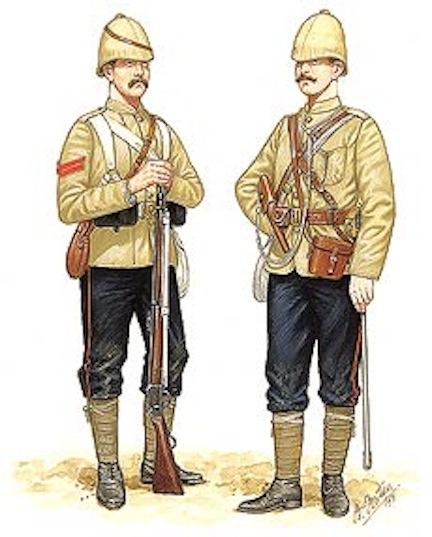 Pions soldats anglais fin XIXème siècle pour projet en cours d'édition Britis10