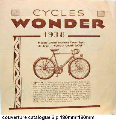 WONDER cadre anglais années 30 CHANTELOUP? Wonder10