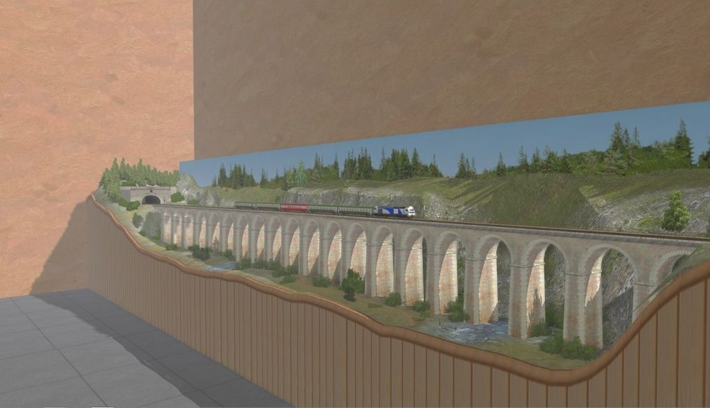 Le Viaduc en HO ( model trainz ) Captur14