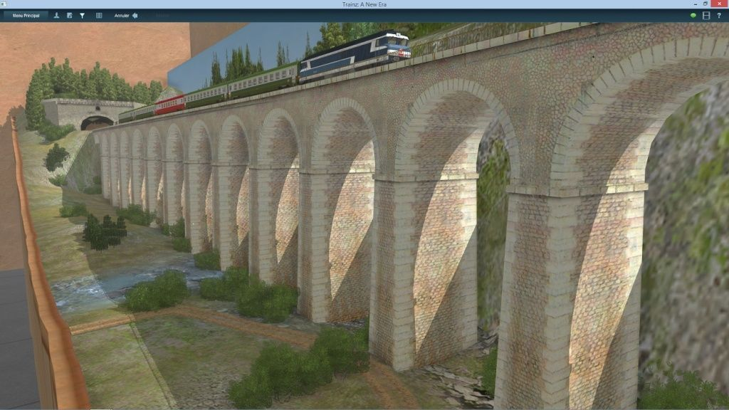 Le Viaduc en HO ( model trainz ) Captur15