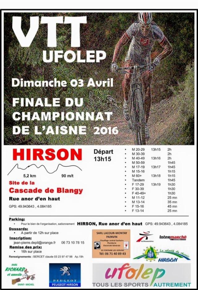 3 avril 2016 final championnat de l'aisne vtt 10403410