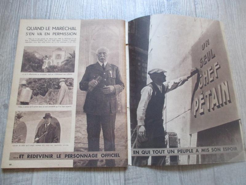 Affiche et livre du Régime du Vichy. Img_2819