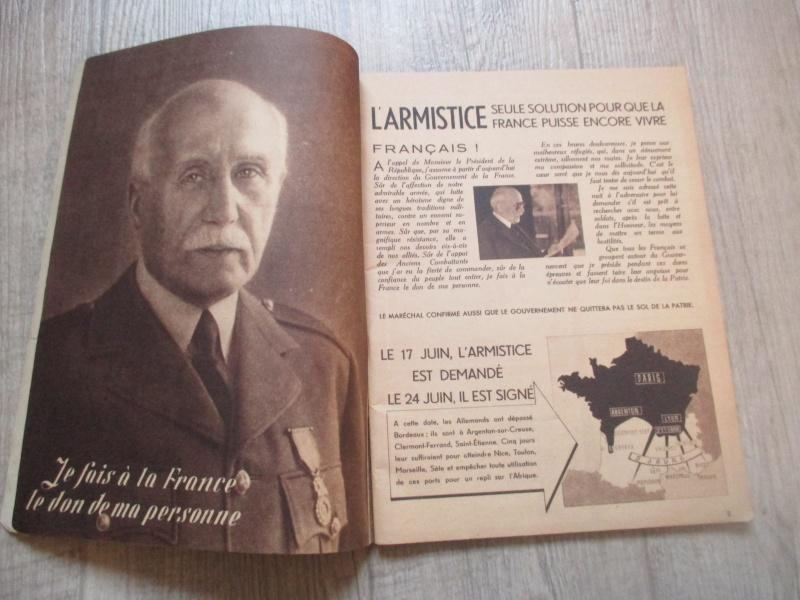 Affiche et livre du Régime du Vichy. Img_2820