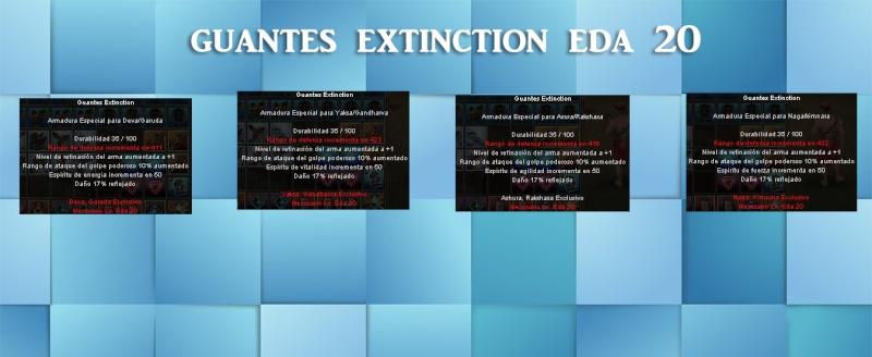 Items Stats para Donaciones Guante12