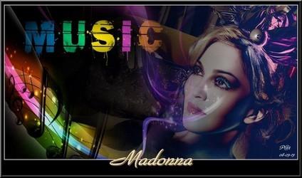 Bannières et photos sur les  chanteurs et chanteuses des années 80 (Créa Pat ) - Page 2 Madonn11
