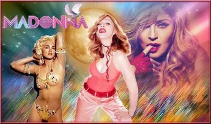 Bannières et photos sur les  chanteurs et chanteuses des années 80 (Créa Pat ) - Page 2 Madonn14