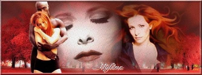 Bannières et photos sur les  chanteurs et chanteuses des années 80 (Créa Pat ) - Page 2 Mylene12