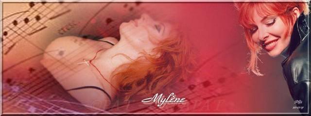 Bannières et photos sur les  chanteurs et chanteuses des années 80 (Créa Pat ) - Page 2 Mylene13