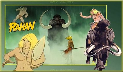 Bannières et photos sur les dessins animés des années 80   (Créa Pat ) Rahan11