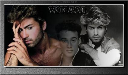 Bannières et photos sur les  chanteurs et chanteuses des années 80 (Créa Pat ) - Page 2 Wham10