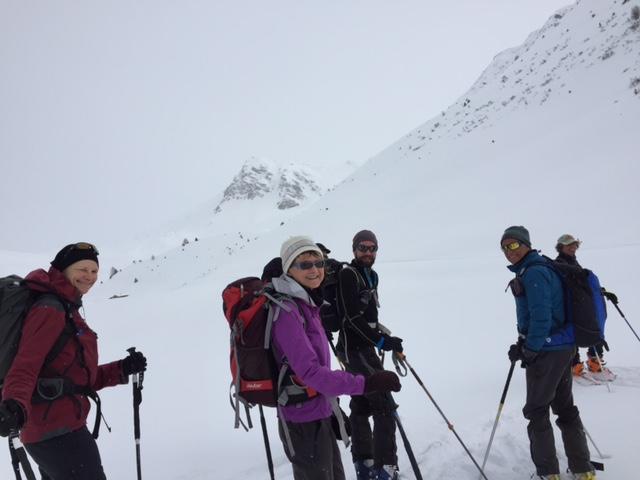 Raid en Beaufortain Montee10