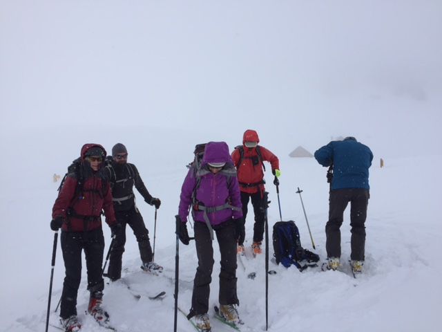 Raid en Beaufortain Sommet10