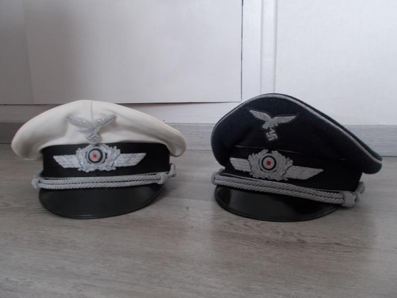 2 casquettes d' officier Luftwaffe Dscn1410