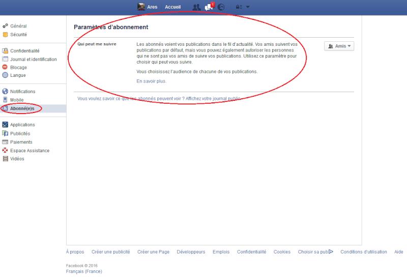 Page Facebook Fb711