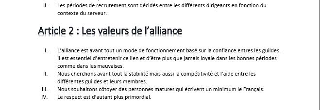 règlement de l'alliance [CAM] Extrai11
