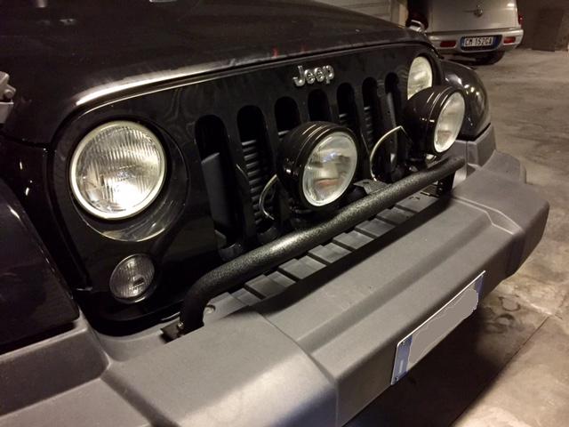 Front Bumper Mounted Light Bar Mopar  Jeep_f10