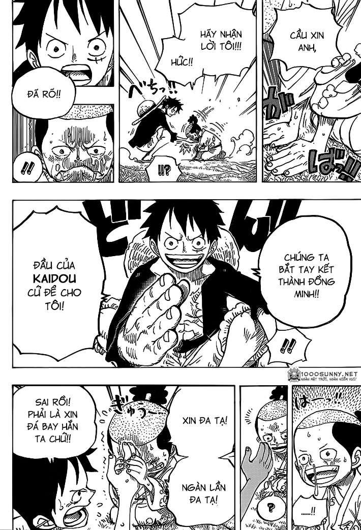 One Piece Chapter 819: Người kế vị gia tộc Kouzuki - Momonosuke - Page 6 01110