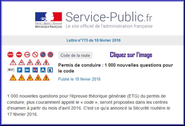 La lettre N° 775 de Service Public pour le 18 Février 2016 77510