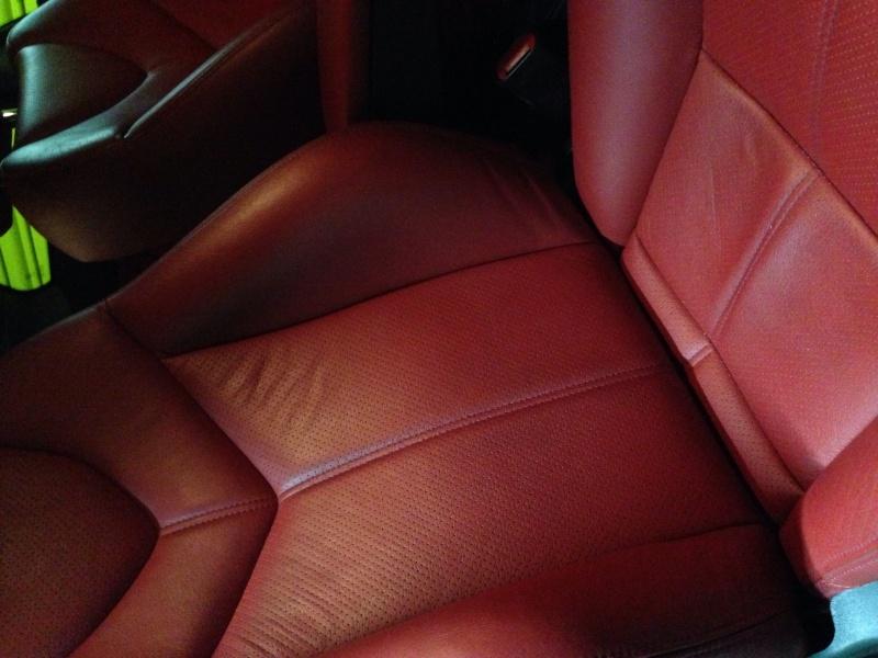 Interni in pelle Alfa Romeo GT - ridare effetto opaco Image19