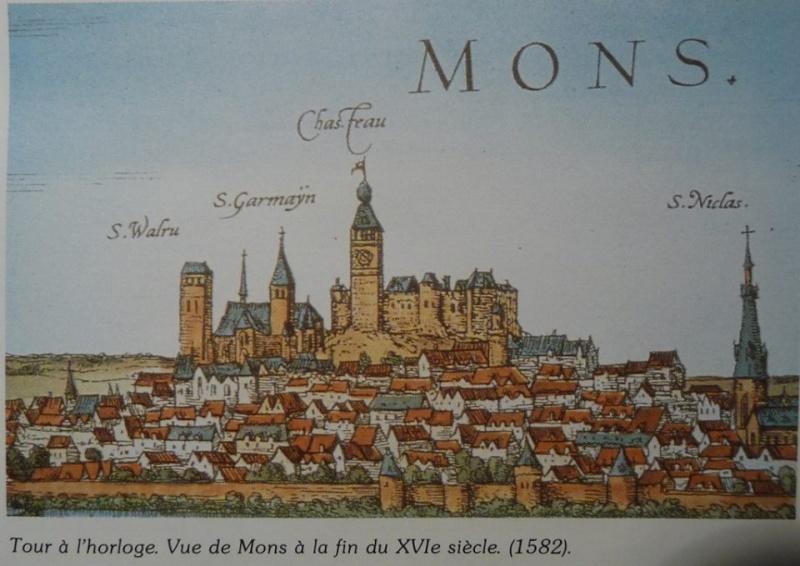 La tour de l'Horloge - Mons 16ème siècle Mons11