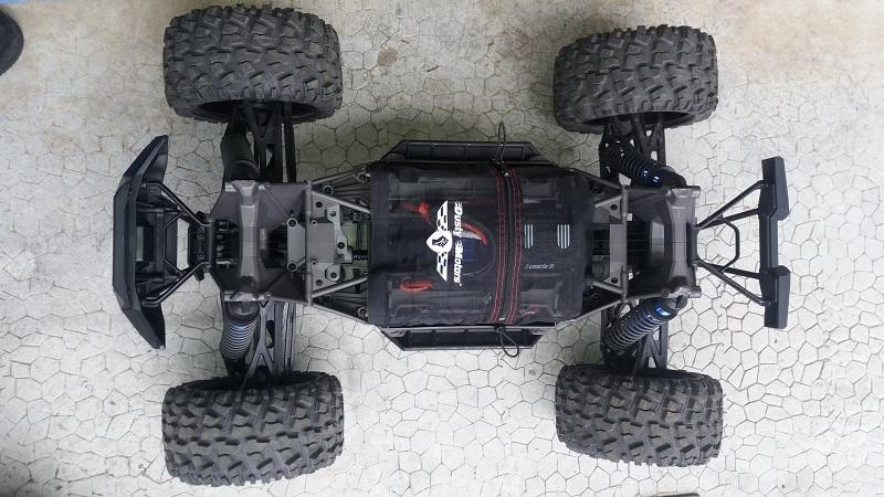 X-MAXX Viceral Tek    (VENDU) 20160266