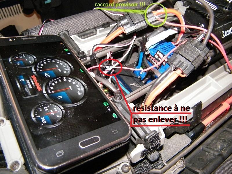 Afficher la tension Réelle des Batteries sur la Télémétrie du X-Maxx Dscf5712