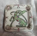 Small square pin dish. Scandinavian possibly?  Dscn1310