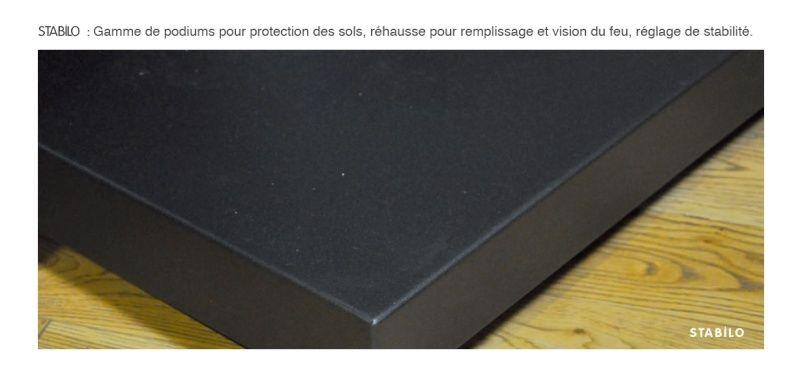 Accessoires de personnalisation de votre installation Cheminée ou Poêle. Deco_e18