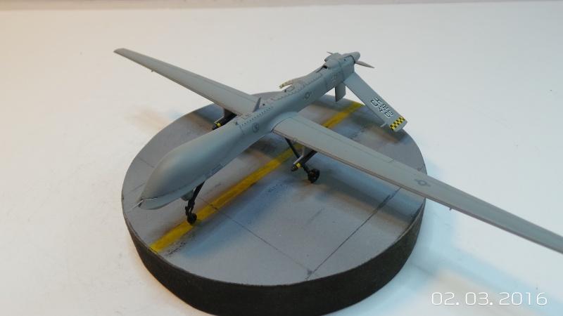 Drone Predator MQ1a Italeri 1/72 1289 Drone_10