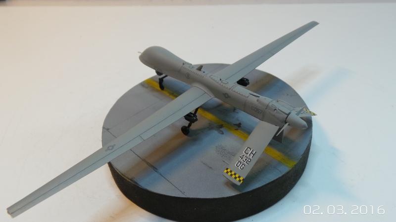 Drone Predator MQ1a Italeri 1/72 1289 Drone_12