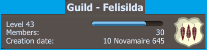 Candidature : Felisilda Guilde11