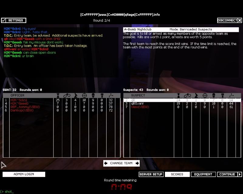 qR| vs H2K 118