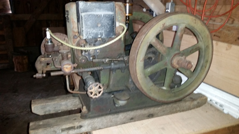 Fuller & Johnson 1 1/2 hp with can crusher 20160213