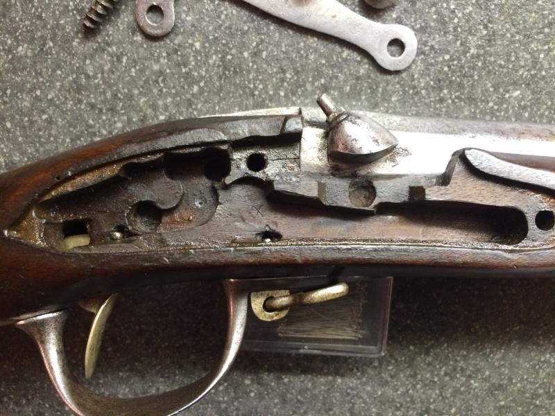 Restauration, nettoyage de mon fusil modèle 1777, résultat en images ... Img_3821