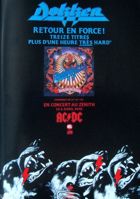 1988 / 04 / 06 - FRA, Paris, Le zénith 1010