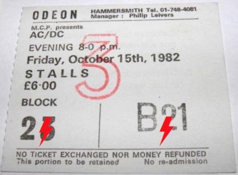 1982 / 10 / 15 - UK, London, Hammersmith Odeon 15_10_11