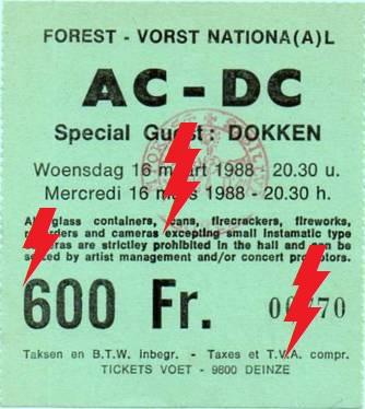 1988 / 03 / 16 - BEL, Brussels, Forest National 16_03_10